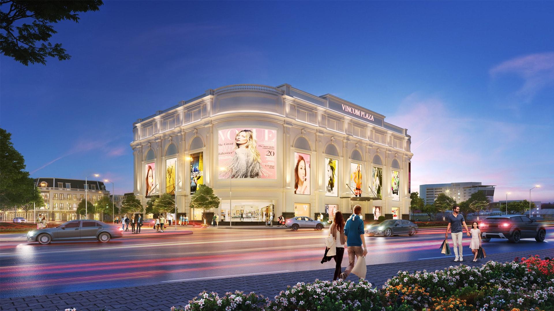 trung tâm thương mại Golden Mark Cẩm Phả