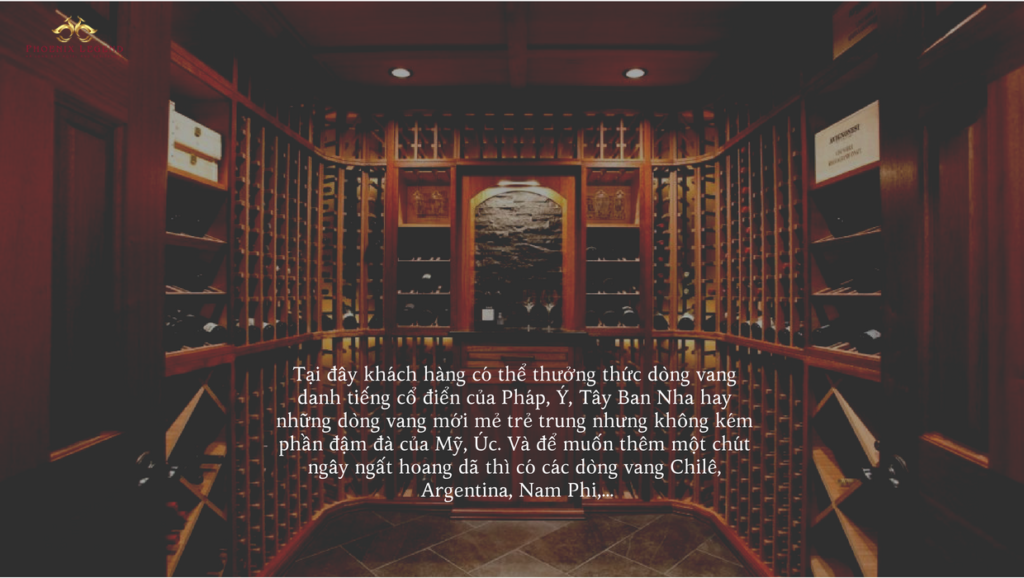 hầm rượu phoenix legend