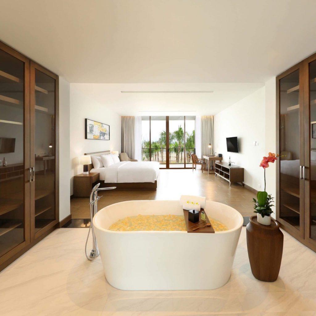 phòng tắm biệt thự sun